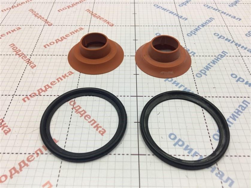 На резиновых частях фильтра отсутствует белое напыление тальком, на обратном клапане отсутствует маркировка изготовителя.