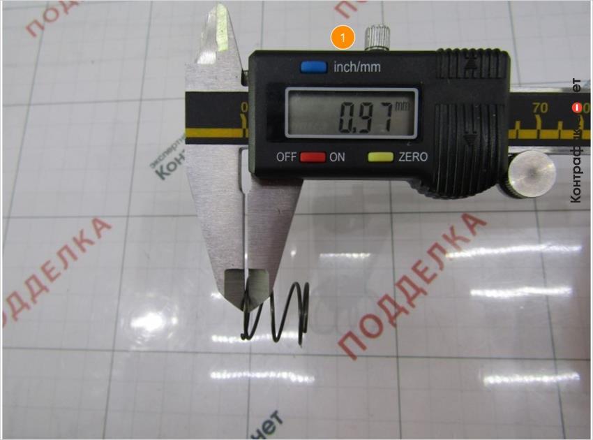 1. Толщина пружины перепускного клапана меньше на 0, 42мм.