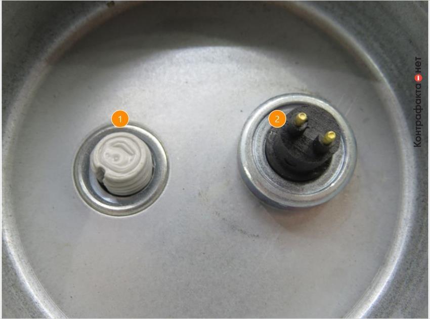 1. Отсутствует держатель сливной пробки. | 2. Используется пластик низкого качество.