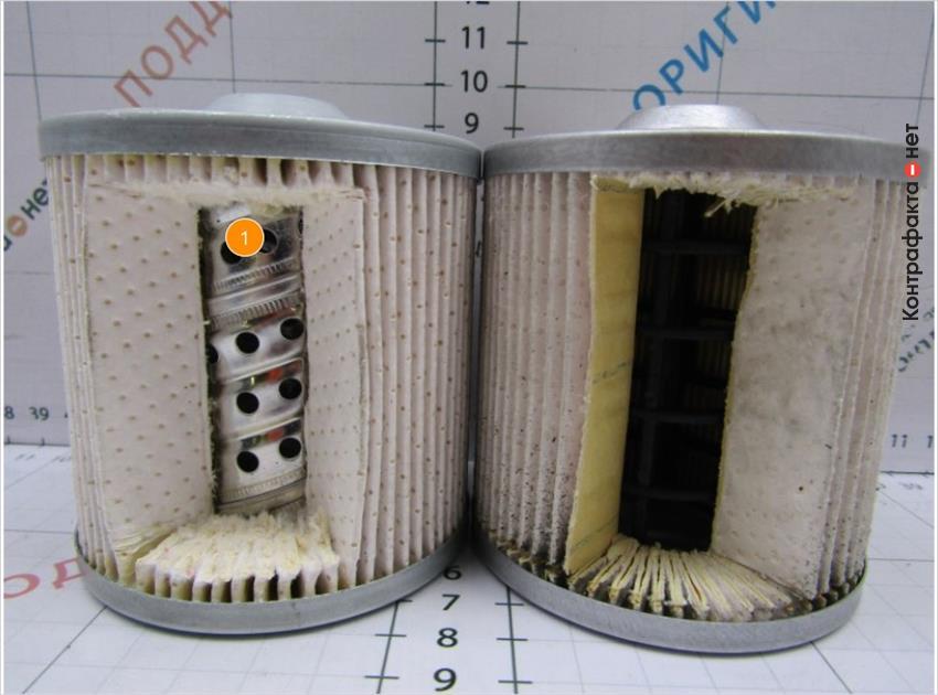 1. Материал и строение обечайки не соответствует оригиналу.