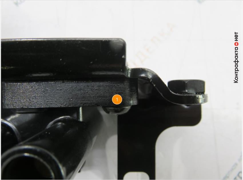 1. При креплении катушки не используется шайба-гровер.