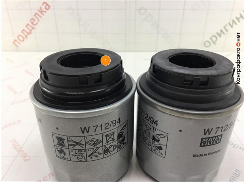 1. Отсутствует внешняя обработка резиновых уплотнителей.