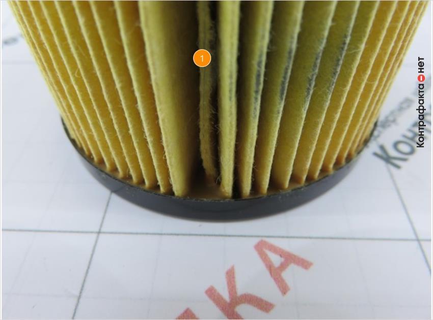 1. Ширина шва в месте склейки сот меньшего размера.