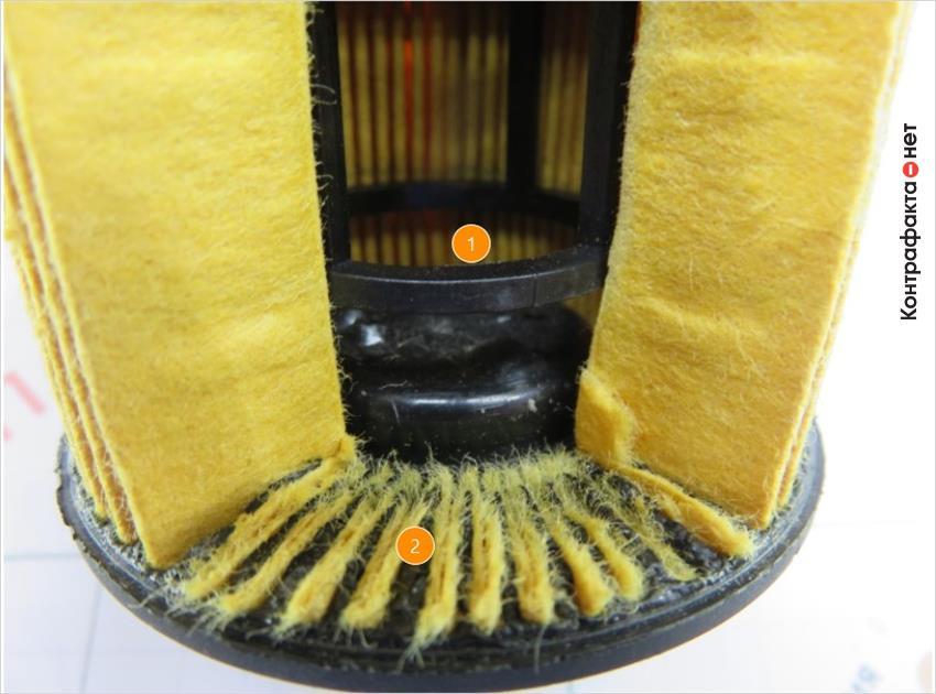 1. Дефекты вздутия пластмасса. | 2. Беспорядочное расположение ламелей.