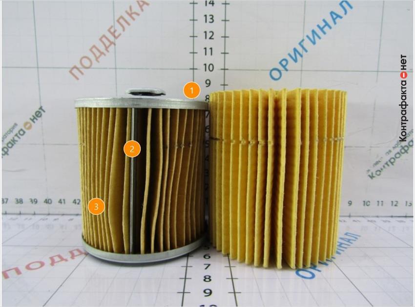 1. Меньшая высота фильтрующего элемента. | 2. Используется прижимная пластина. | 3. Количество ламелей 55(у оригинала 45).