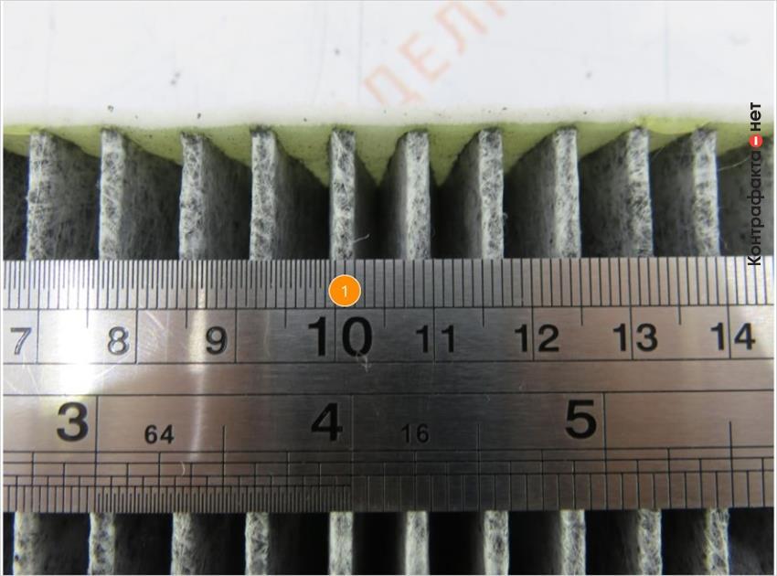 1. Толщина ламелей меньше на 2 мм.