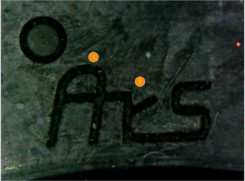 1. Логотип производителя не выдержан в корпоративном стиле. | 2. Не качественное нанесение маркировки.