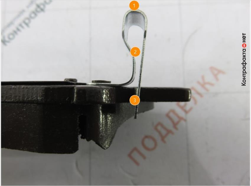 1. Сигнализатор износа другой формы. | 2. Меньшая толщина металла. | 3. Преждевременное срабатывание из-за большей длины.