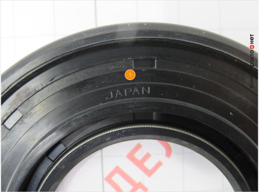 1. Нанесена маркировка страны производителя.