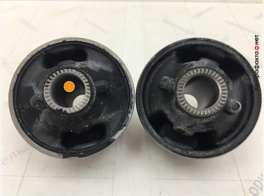 1. Отличается диаметр отверстия.