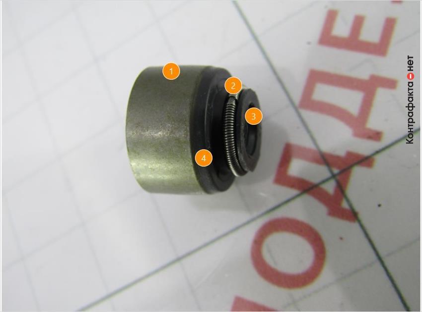 1. Низкое качество обработки поверхности. | 2. Используется другой способ соединения прижимной пружины. | 3. Излишки материала. | 4. Оттенок цвета не соответствует оригиналу.