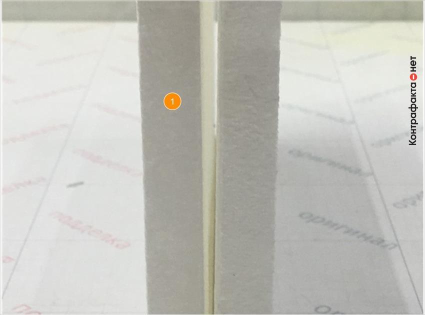 1. Отличается материал фильтрующего элемента.