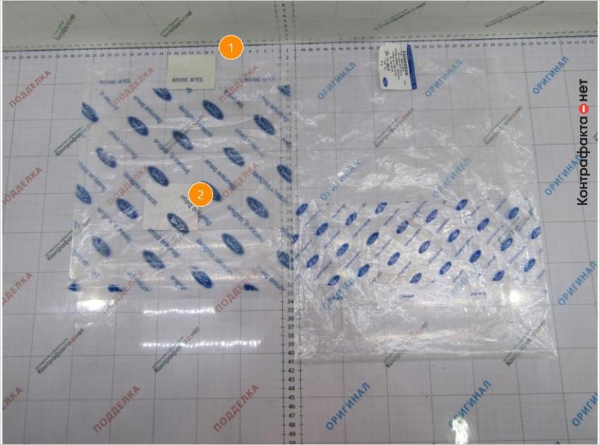 1. Индивидуальная упаковка меньшего размера.   2. Полиграфия нанесена на всю поверхность упаковки.