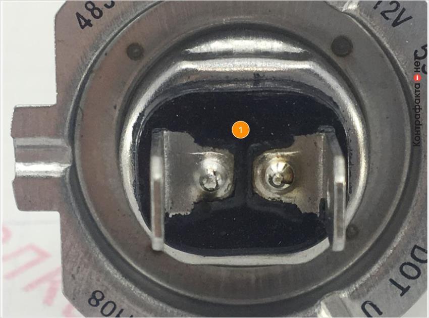 1. Некачественная обработка изолятора.