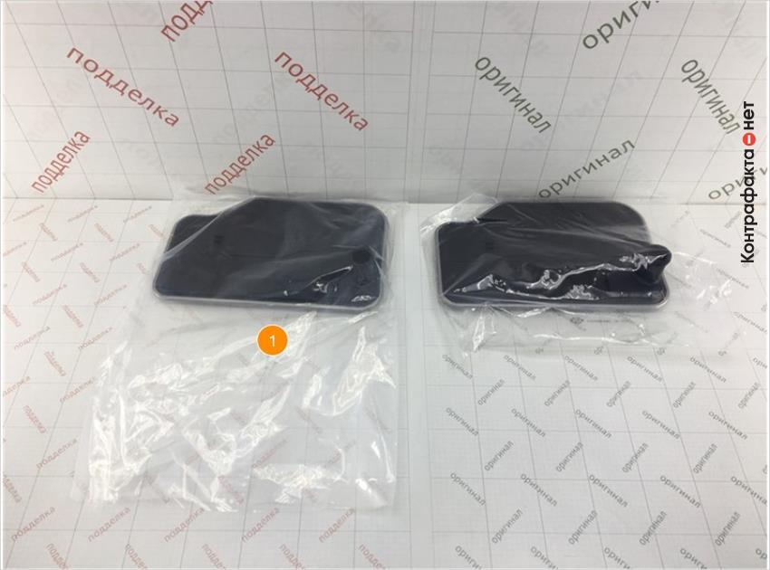 1. Отличается размер и плотность полиэтиленовой упаковки.