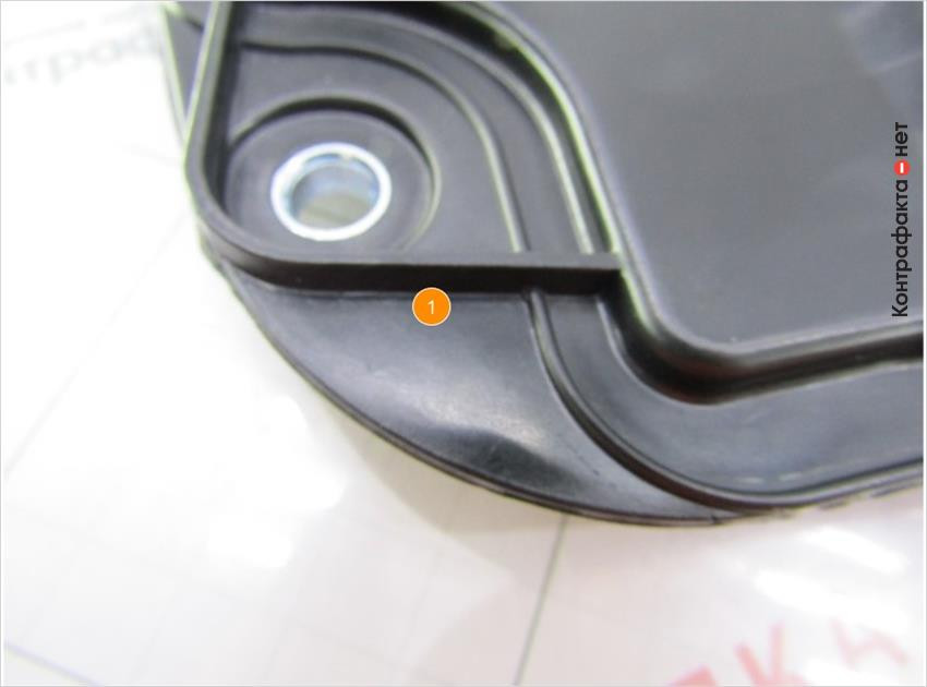 1. Отсутствует маркировка производителя.