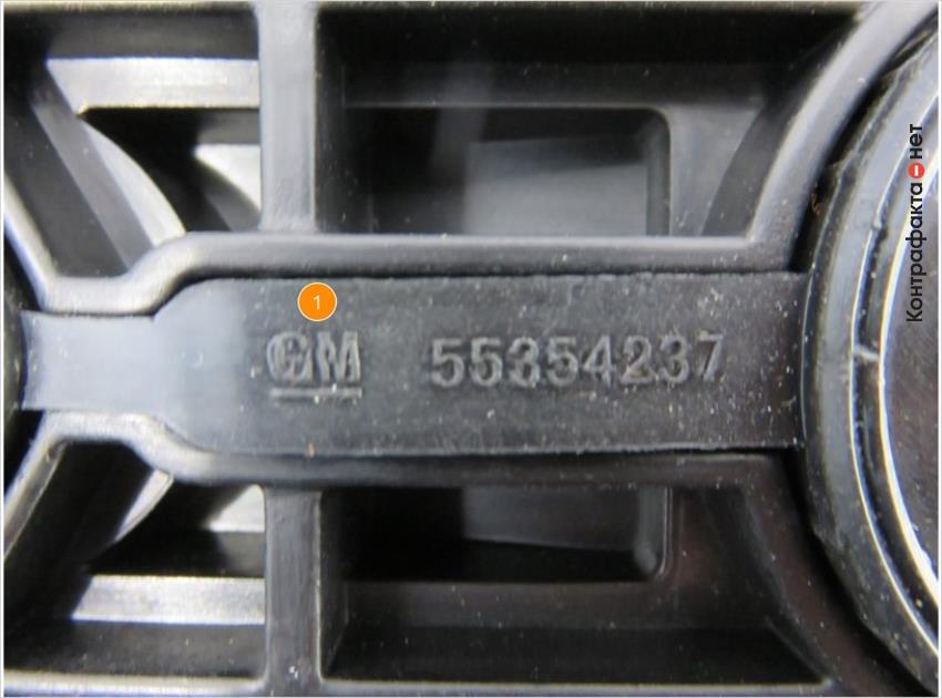 1. Маркировка прокладки клапанной крышки отличается от оригинала.