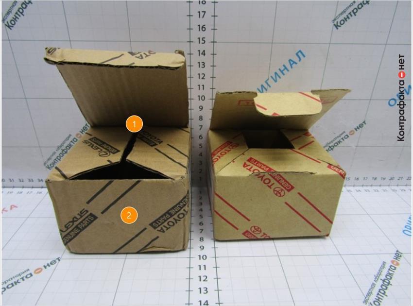 1. Другая форма выкройки индивидуальной упаковки.   2. Размер и цветовое оформление отличается от оригинала.