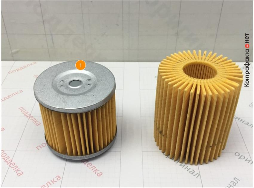 1. Отличается размер и конструкция фильтрующего элемента.