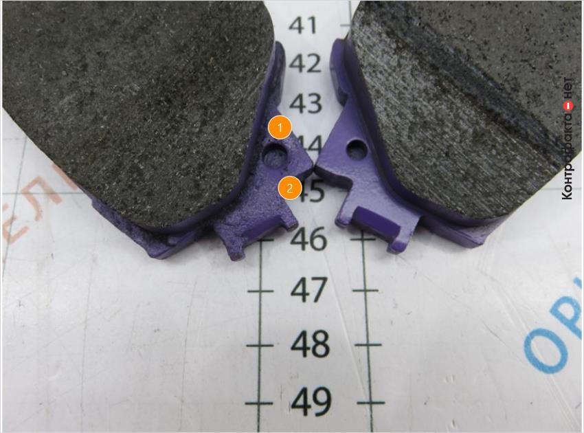 1. Отверстие большего диаметра. | 2. Низкое качество обработки поверхности корпуса.