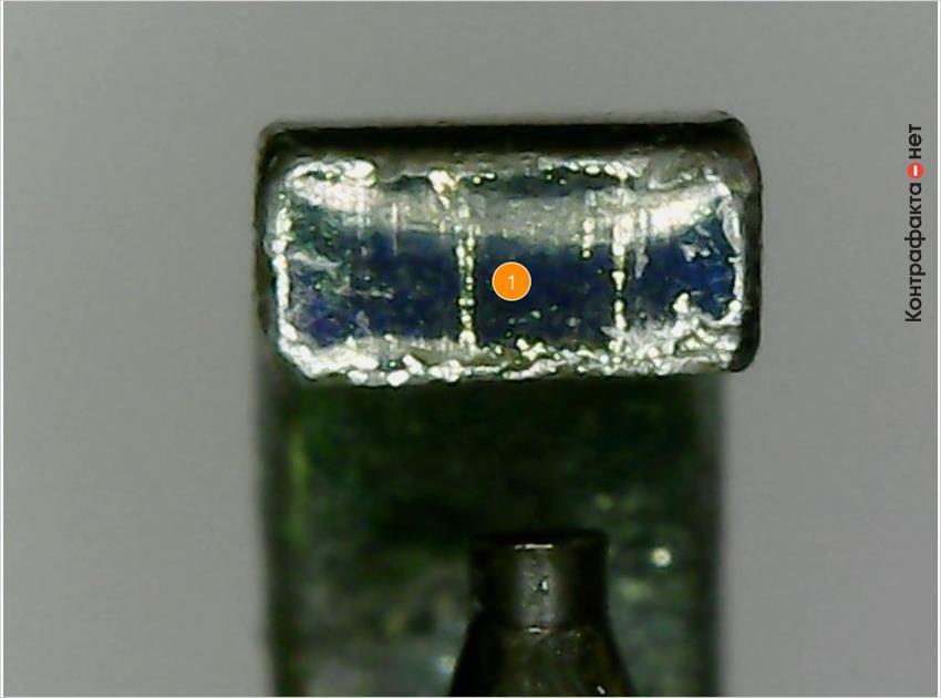 1. Боковой электрод другой конструкции.