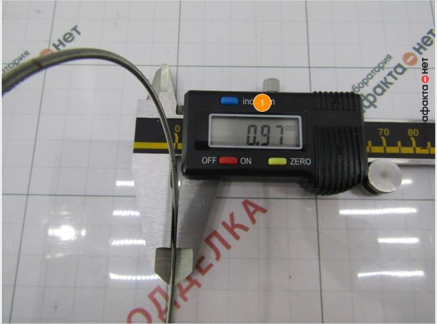 1. Диаметр пружины больше на 0. 15 мм.