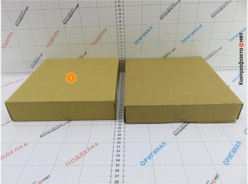 1. Разные габариты индивидуальной упаковки.