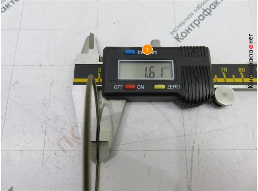 1. Диаметр пружины больше на 0, 04мм.