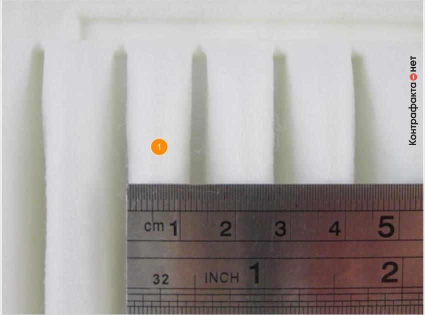 1. Одинаковая ширина ламелей.