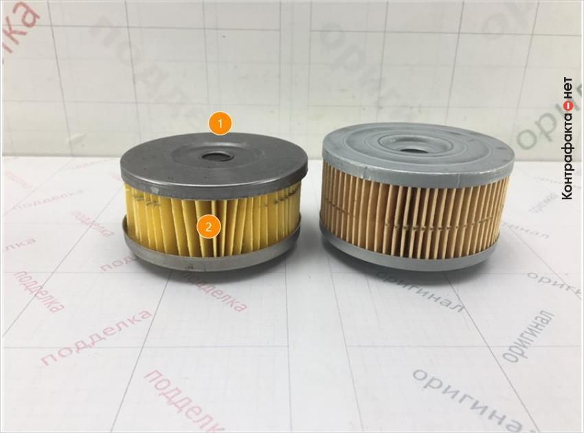 1. Отличается размер и конструкция фильтрующего элемента.   2. Отличается материал фильтрующего элемента.