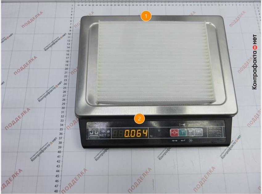1. Количество ламелей 24 (оригинал 28 ). | 2. Вес больше на 33%.