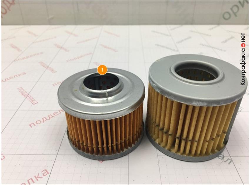 1. Фильтру имеет конструктивное отличие.