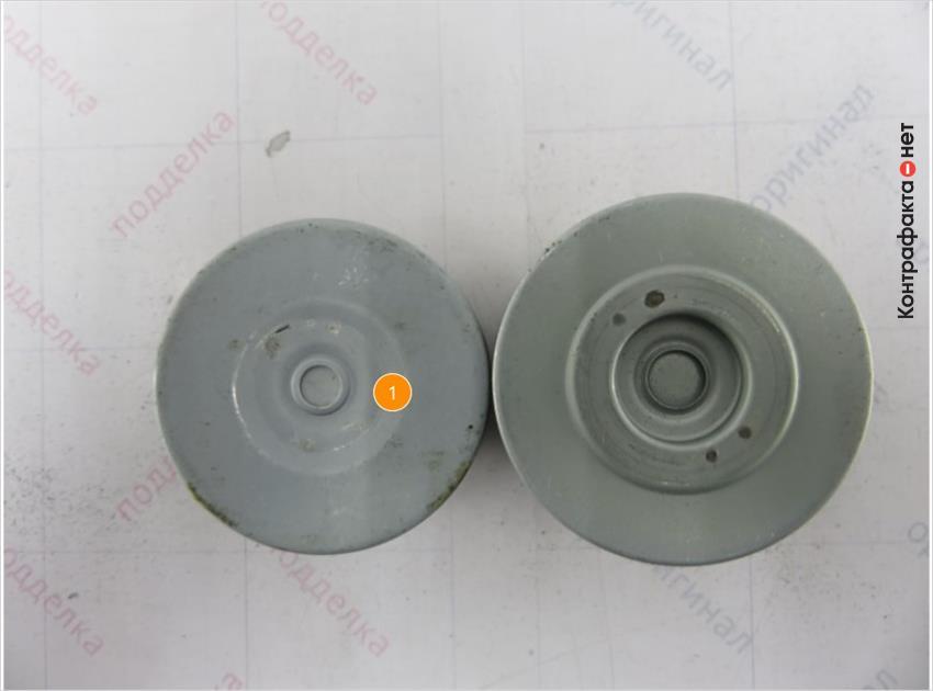1. Конструкция перепускного клапана не схожа с оригиналом.