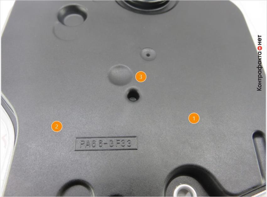 1. Отсутствуют маркировки. | 2. Имеет матовый оттенок , не свойственно оригиналу. | 3. Конструктивные отличия.