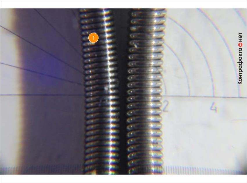 1. Используется проволока меньшего диаметра.