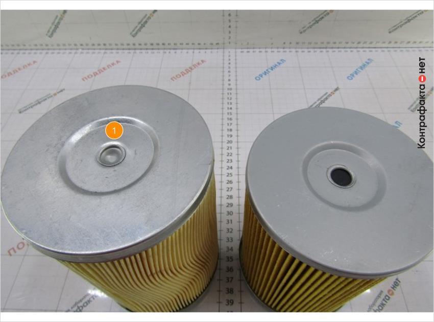 1. Металлический обводной клапан.