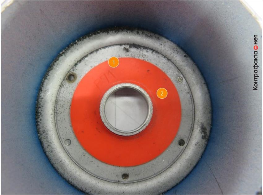 1. Обратный клапан сплошной плоский. | 2. Яркий оранжевый цвет.
