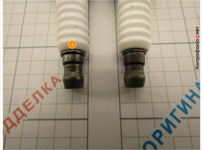 1. Конструктивные отличия контактной гайки.