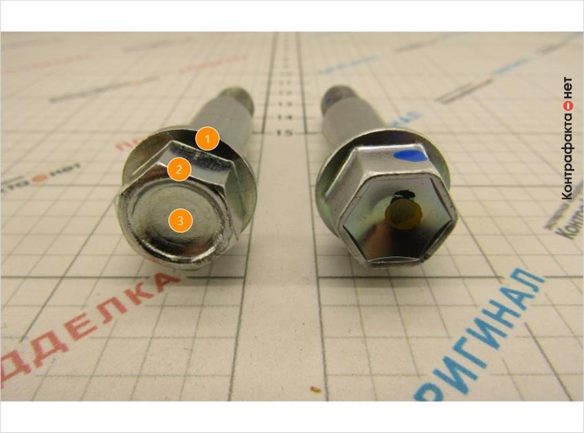 1. Нет отметок отк.   2. Конструктивные отличия.   3. Низкое качество обработки поверхности.