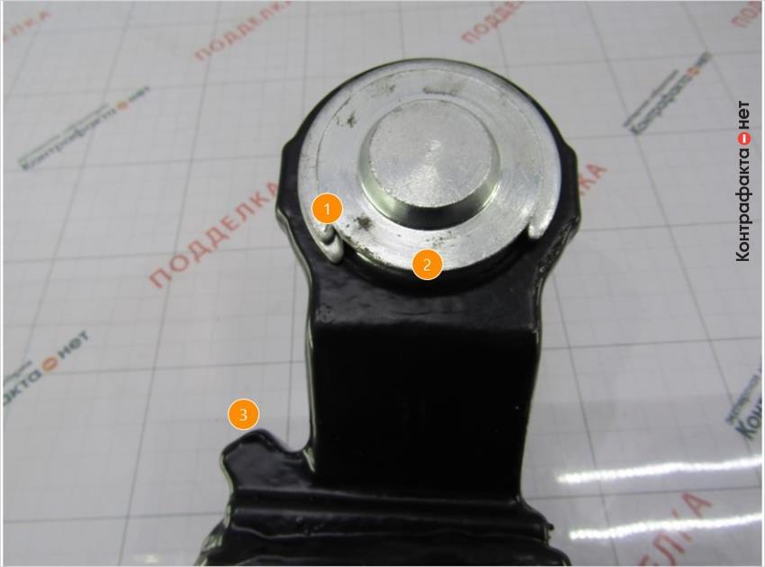 1. Используются два прижимных полукольца. | 2. Полностью прокрашенная поверхность. | 3. Конструктивные отличия.