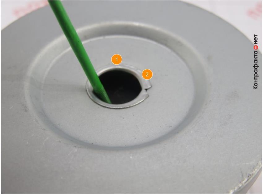 1. Лёгкий отжим обводного клапана. | 2. Низкое качество исполнения.