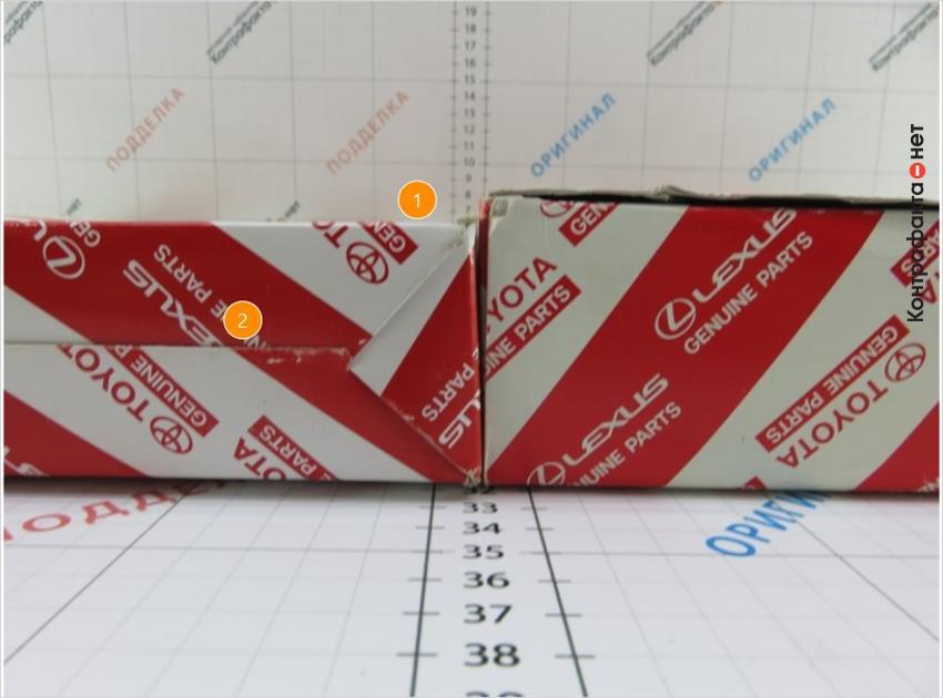 1. Упаковка меньшего размера. | 2. Другой способ сборки коробки.