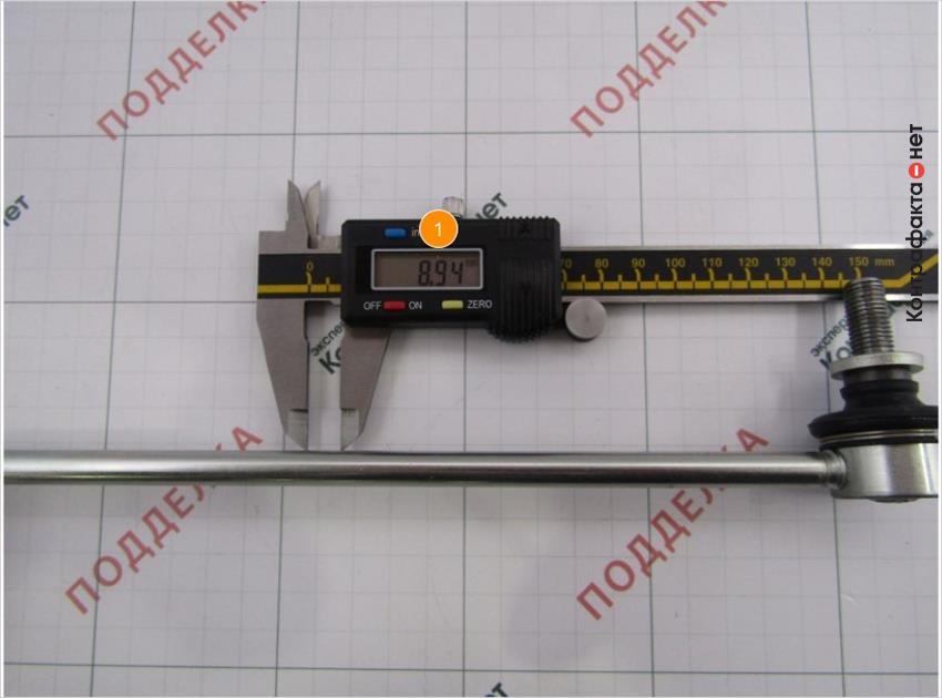 1. Толщина штока больше на 1, 02 мм.